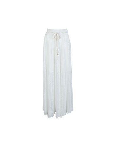 Плиссированная юбка макси в стиле бохо Patrizia Pepe