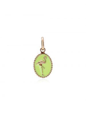 Зеленый золотая подвеска Gigi Clozeau