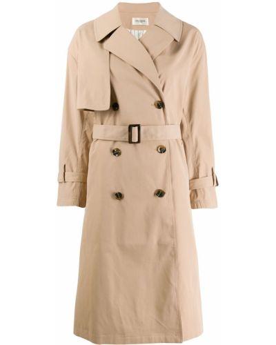 Бежевое пальто классическое Jovonna