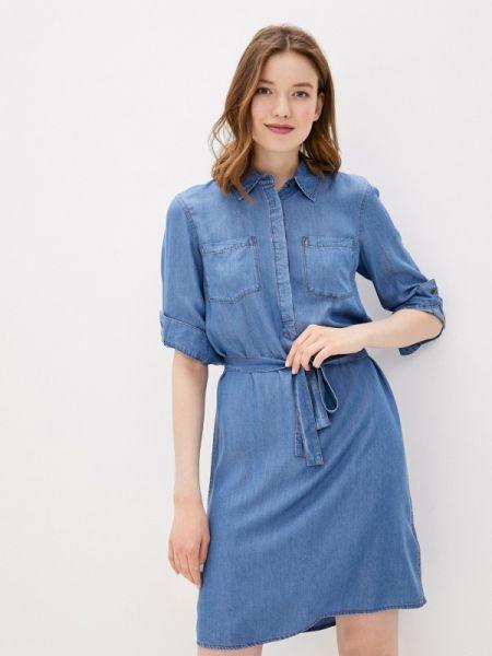 Джинсовое платье - голубое Baon