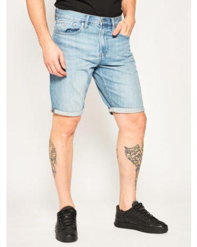 Szorty jeansowe - niebieskie Calvin Klein Jeans