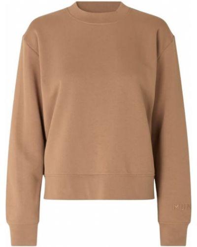 Bluza długa oversize z długimi rękawami bawełniana Munthe