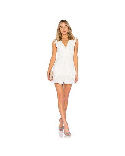 Платье с оборками Bcbgmaxazria