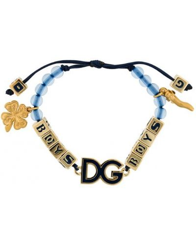 Синий браслет Dolce & Gabbana