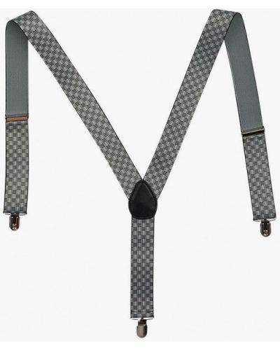 На подтяжках серые подтяжки осенние Stilmark