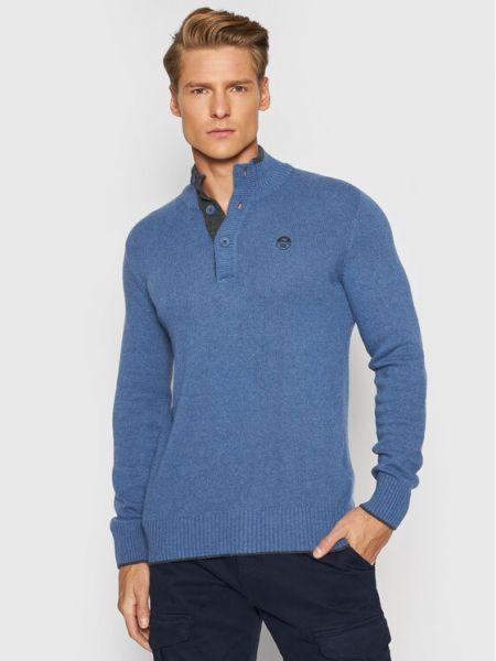 Sweter - niebieski North Sails