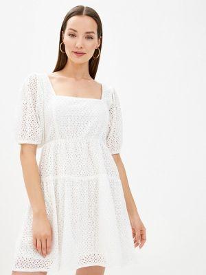 Прямое платье - белое Tiffosi