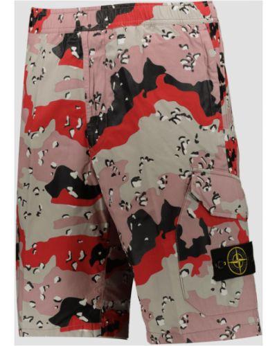 Spodni włókienniczy bermudy z kieszeniami Stone Island