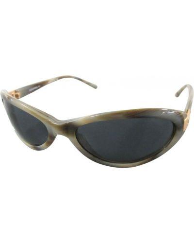 Czarne włoskie okulary Chanel Vintage