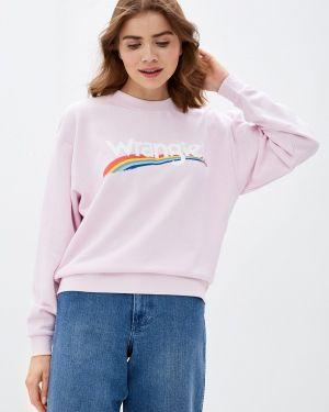 Толстовка розовый Wrangler