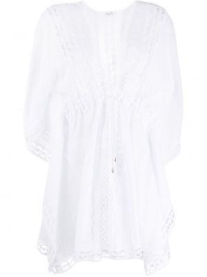 Sukienka mini rozkloszowana koronkowa krótki rękaw Charo Ruiz Ibiza