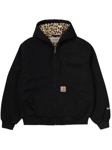 Хлопковая черная куртка Wacko Maria