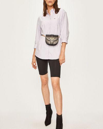 Блузка с длинным рукавом однотонная классическая Tommy Jeans