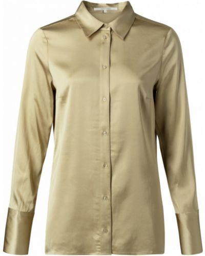 Beżowa bluzka z długimi rękawami Marc Aurel