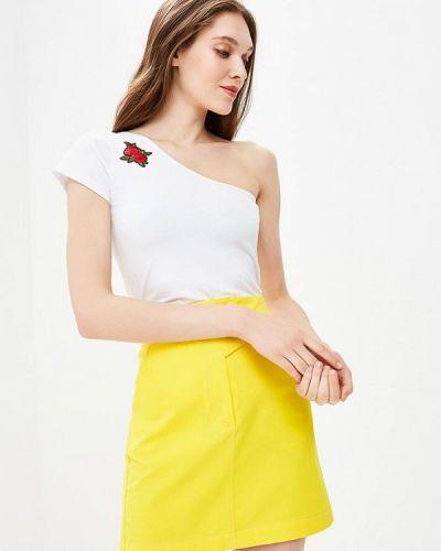 Белая футболка Fornarina