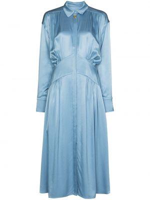 Niebieska klasyczna sukienka Rejina Pyo