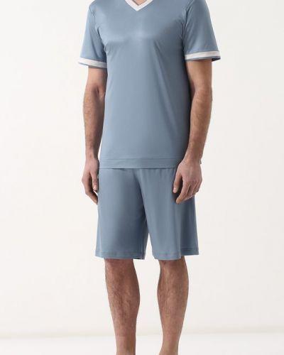 Синяя пижама Zimmerli