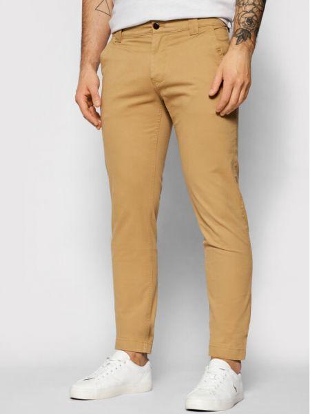 Сhinosy - brązowe Tommy Jeans