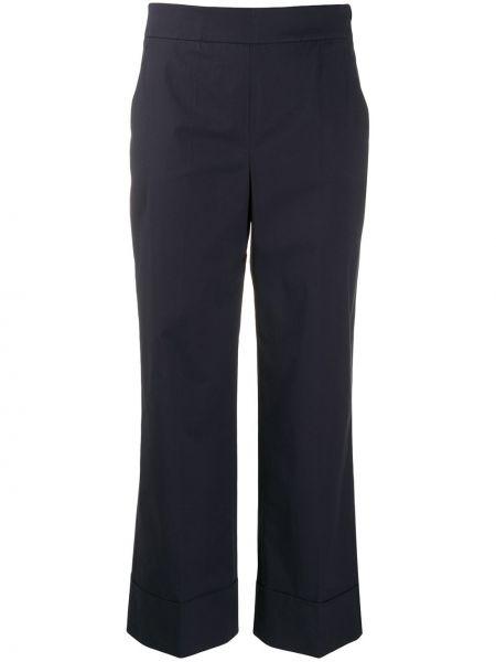 Укороченные брюки с завышенной талией с карманами Incotex