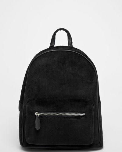 Черный рюкзак с отделениями Pieces