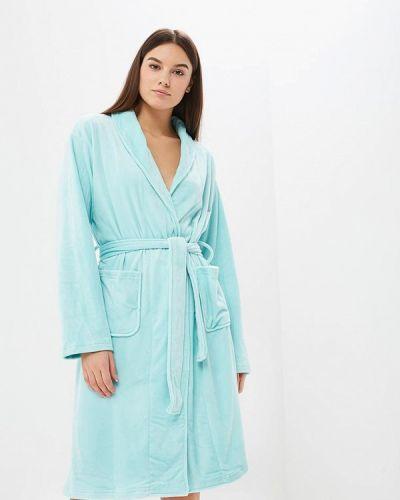 Голубой халат домашний Befree