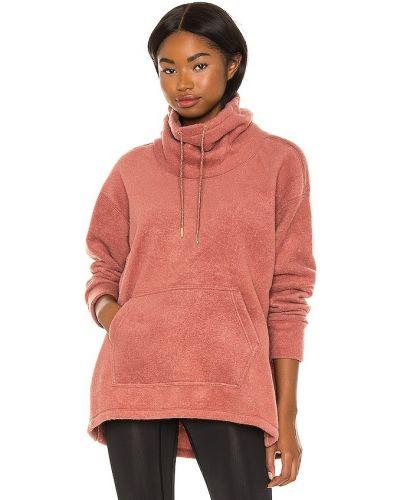 Красный свитер металлический с декольте Nike