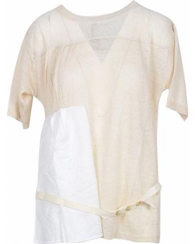 Beżowa t-shirt Manila Grace