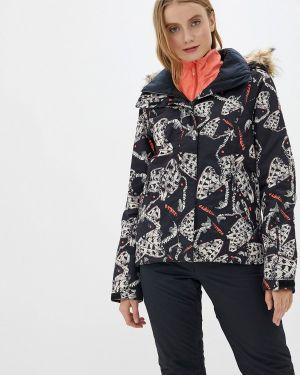 Горнолыжная куртка черная осенняя Roxy
