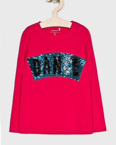 Блуза с пайетками розовый Name It