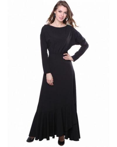 Черное платье весеннее Olivegrey