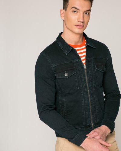 Джинсовая куртка легкая темно-синяя Casual Friday