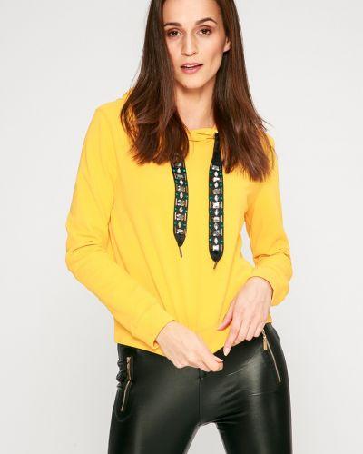 Кофта желтый с капюшоном Answear