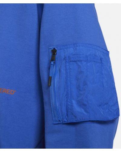 Niebieska bluza z kapturem Jordan