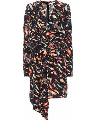 Jedwab sukienka mini Givenchy