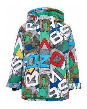 Свободное флисовое теплое пальто свободного кроя Button Blue