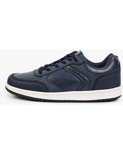 Низкие кроссовки - синие Crosby