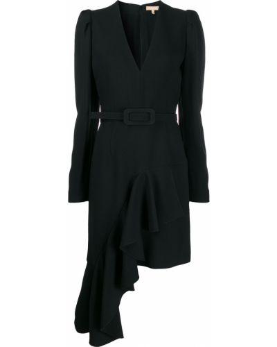 Платье с V-образным вырезом с вырезом Michael Kors Collection