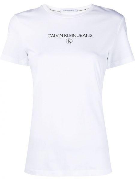 Prosto czarny bawełna bawełna koszula jeansowa Calvin Klein Jeans