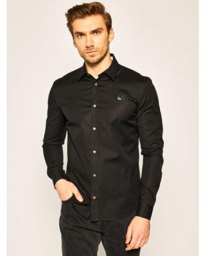Czarna koszula Mcq Alexander Mcqueen