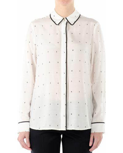 Блузка шелковая из вискозы Armani Jeans