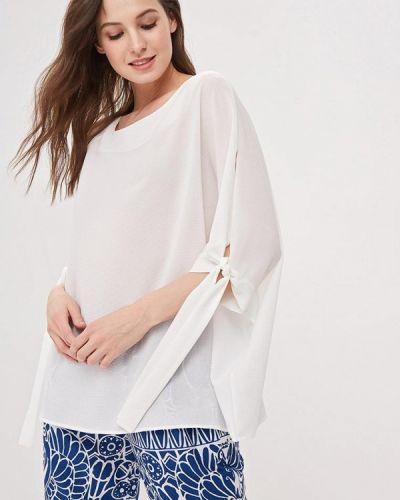 Блузка с длинным рукавом белая итальянский Perfect J