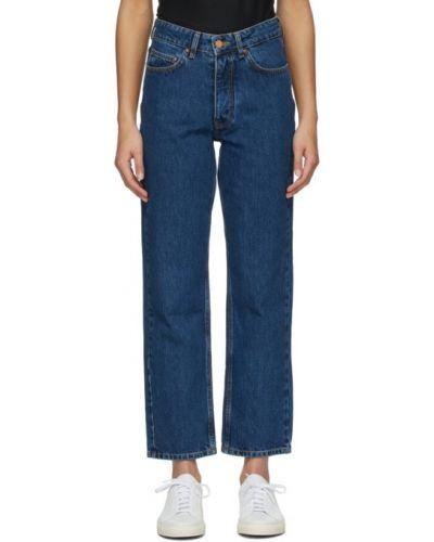 Черные прямые укороченные джинсы с карманами Won Hundred