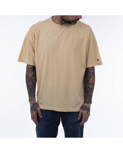 Желтая футболка Champion