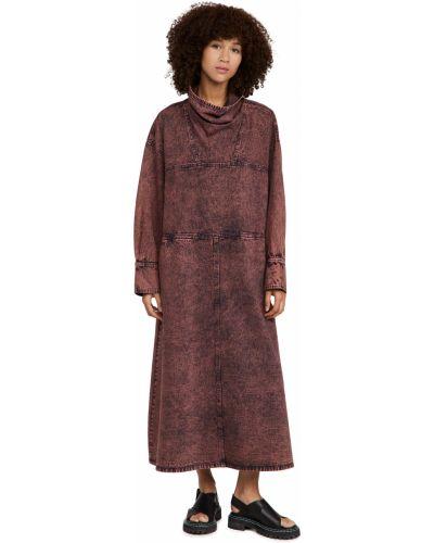 Платье макси с длинными рукавами Rachel Comey