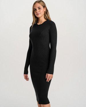 Вязаное черное платье Befree