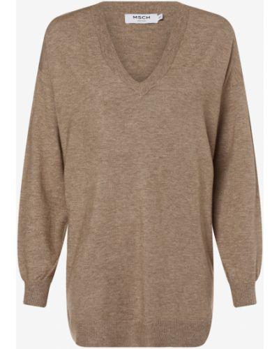 Beżowy sweter Moss Copenhagen