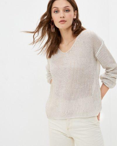 Белый пуловер Tantra