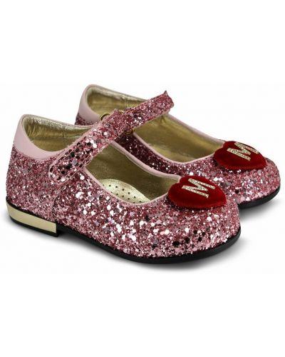 Różowe balerinki Monnalisa