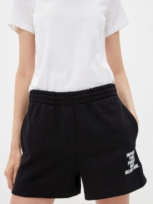 Повседневные черные спортивные шорты Helmut Lang