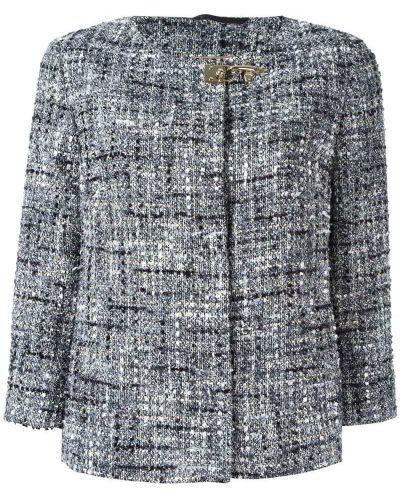 Пиджак серый твидовый Fay